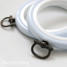 Pale Blue Flexi Hoop