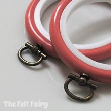 Dark Pink Flexi Hoop