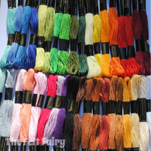 Embroidery Thread Mixed Pack - 36 colours