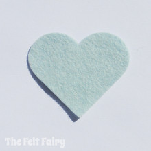 Duck Egg Felt Square - Wool Blend Felt **Discontinued - Limited Stock**