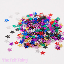 Mixed Star Sequins