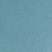Turquoise Glitter Felt - 23cm x 30cm