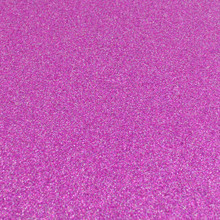 Fuchsia Pink Glitter Felt - 23cm x 30cm