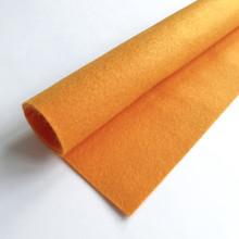Tangerine - Polyester Felt Sheet