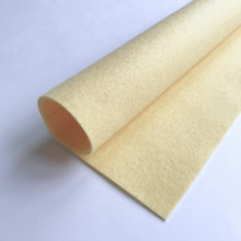 Custard Cream - Polyester Felt Sheet