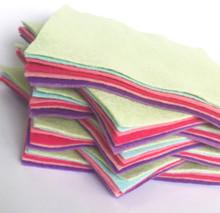 Bouquet Bundle 10 Shades - Wool Blend Felt - 4 sheet sizes