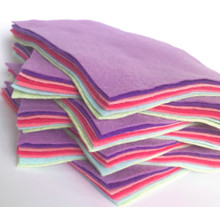 Bouquet Bundle 7 Shades - Wool Blend Felt - 4 sheet sizes