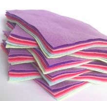 Bouquet Bundle 7 Shades - Wool Blend Felt - 4 sheet sizes