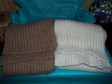 Chunky rib scarp, Alpaca scarf