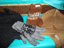 100% Alpaca Hand Knitted KIDS Gloves