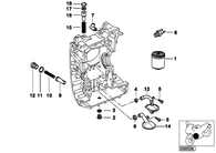 Filtro Aceite K1200 LT (11421460845)