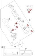 Servicio Instalación Kit de Bomba de Bencina KTM 950 / 990 / R / Adventure (MSS-CAKITBOMBEN)