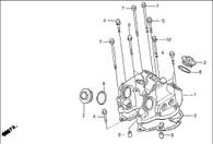 Empaquetadura para Tapa Valvulas NX400 Falcon (12391-KCY-671)