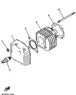 Bujia NGK R CPR8EB-9 (Original Yamaha) (947020042800)