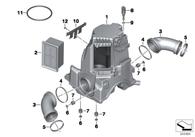 Filtro de Aire BMW para BMW R1200GS 03-09 / R900RT
