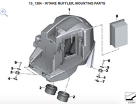 Filtro de Aire BMW para F800S / R / ST / GT (13717678281)