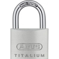 Candado  Aluminio Macizo TITALIUM  Abus 64TI/50