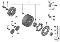 Rueda Libre Generador para BMW F800GS (11118537769)