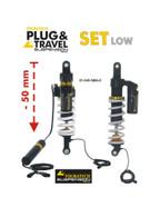 Juego de Suspensión de Touratech Suspension Reducción de Altura -50 mm Plug & Travel Para BMW R1200GS LC 2013-2016 (01-045-5886-0)