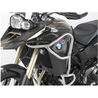 Defensa Alta (Tanque) Hepco & Becker para F800GS Adventure Plata. (5026060022)