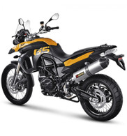 Escape Akrapovic Slip-On Titanio para BMW F650GS/F800GS