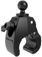 """La RAM Tough-Claw ™ es la base de montaje perfecta para una instalación y extracción rápida y sencilla sin herramientas en rieles y barras redondas, cuadradas y de formas extrañas. El Tough-Claw ™ se puede sujetar con rieles de 1 """"a 1.875"""" de diámetro exterior. Ideal para montar tabletas, cámaras de acción, teléfonos inteligentes, portacañas para almacenamiento de barras y mucho más en una amplia variedad de aplicaciones. Perfectamente adaptado para montarse en el yugo de una aeronave, manubrios y postes de asiento de bicicletas, rieles de kayak, barras antivuelco y mucho más, la RAM® Tough-Claw ™ pronto se convertirá en otro componente RAM® esencial en su colección de opciones de montaje."""
