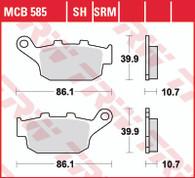 TRW Pastillas de Freno Trasero para Triumph Tiguer 800XC/XCX/XRX (MCB585)