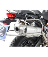 Anclaje Y Maletas  Xplorer CUT OUT de Acero Inox Hepco&Becker para BMW F850/f750GS
