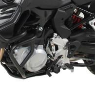HEPCO PROTECCIÓN DE MOTOR F850GS Defensa Baja (Motor) Hepco&Becker Negra para BMW F850/F750GS (9181) 50165130001