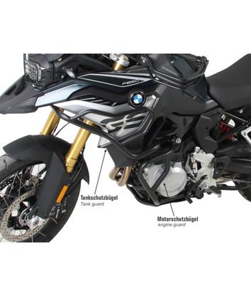 Defensa Alta (Estanque) Hepco&Becker Negro para BMW F850/F750GS (9183) 50265130001
