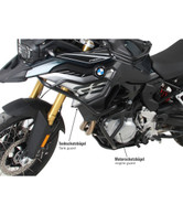 Defensa Alta (Estanque) Hepco&Becker Negro para BMW F850/F750GS (9183) 50265130001