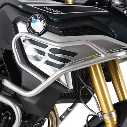 HEPCO PROTECCIÓN DE ESTANQUE BMW F850 GS  Defensa Alta (Estanque) Hepco&Becker Silver para BMW F650/F750GS (9184) 50265130022