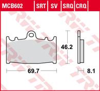 TRW Pastilla de Freno Delantero para Kawasaki Versys 1000 12-17 (MCB602)