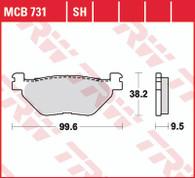 TRW Pastillas de Freno Trasero Yamaha XT1200Z Super Tenere / TDM900 / FJR1300 (MCB731)
