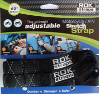 PACK ROK STRAPS NEGRA REFLECTANTE 1,50 (00050)
