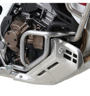 Defensa Baja (Motor) INOX Hepco&Becker para HONDA AFRICA TWIN ADV SPORT (ACERO INOX) (2018) (8898)