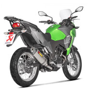 Escape AKRAPOVIC para Kawasaki Versys-X 300 2017 (SLIP-ON TITANIO) (8234)