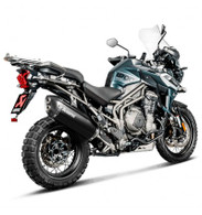 Escape Akrapovic para TRIUMPH TIGER EXPLORER 1200/XR/XCA 2018 (SLIP-ON TITANIO) (9013)
