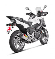Escape Akrapovic para HONDA NC700 / NC750X (SLIP-ON TITANIO) (7024)