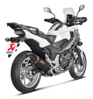Escape Akrapovic para HONDA NC700 / NC750X (SLIP-ON CARBONO)