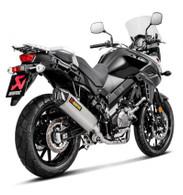 Escape Akrapovic para SUZUKI V-STROM 650 / XT (RACING LINE TITANIO) (9010)