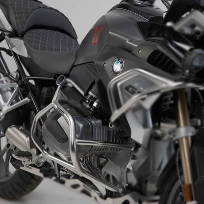 Defensa Baja (Motor) Inox SW-Motech para BMW R1250GS / ADVENTURE / R / RS (2019) (ACERO INOX) (9432)