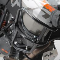 Defensa Baja (Motor) SW-Motech para KTM 1090 ADV R / 1290 SUPER ADV R/S (9445) Defensa Alta (Estanque) SW-Motech Negra para KTM 1090 ADV R / 1290 SUPER ADV R/S (SBL.04.879.10001/B)