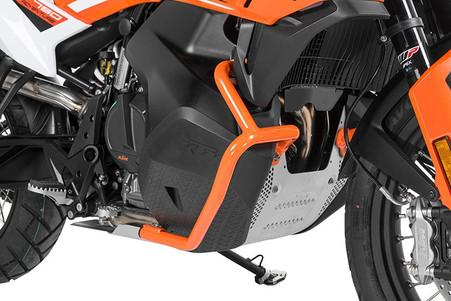 Defensa Baja (Motor) Touratech Acero Inox Naranja PARA KTM 790 ADVENTURE/ 790 ADVENTURE R (01-372-5157-0)