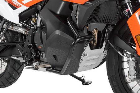 Defensa Baja (Motor) Touratech Acero Inox Negro para PARA KTM 790 ADVENTURE/ 790 ADVENTURE R (01-372-5156-0)