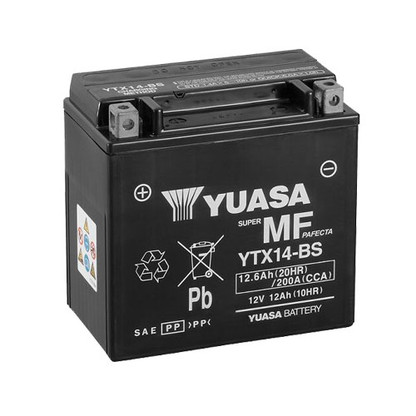 Bateria YUASA YTX14-BS (YTX14-BS)