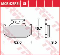 TRW Pastilla de Freno Trasera para Suzuki DR650 (MCB625SI)