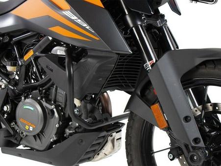 Defensa Baja (Motor) HEPCO&BECKER Negra para KTM 390 ADVENTURE (2020) (50176010001)
