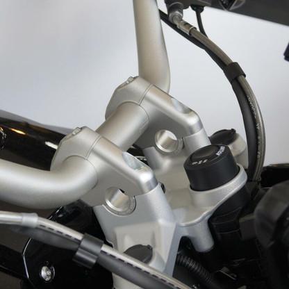 Alza Manubrio Voigt 30MM de Alto y Acerca 24MM para BMW R1200GS LC/ADV/R1250GS/ADV (25320)