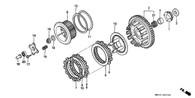 Disco Fricción Honda XL1000 (HON-XL1000-22201-MBT-F20)